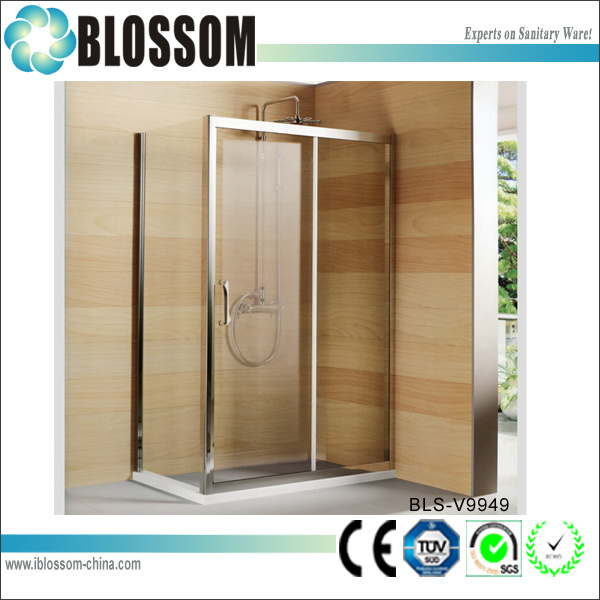 Rectangle Bathroom Standing Shower Cabin (BLS-V9949)