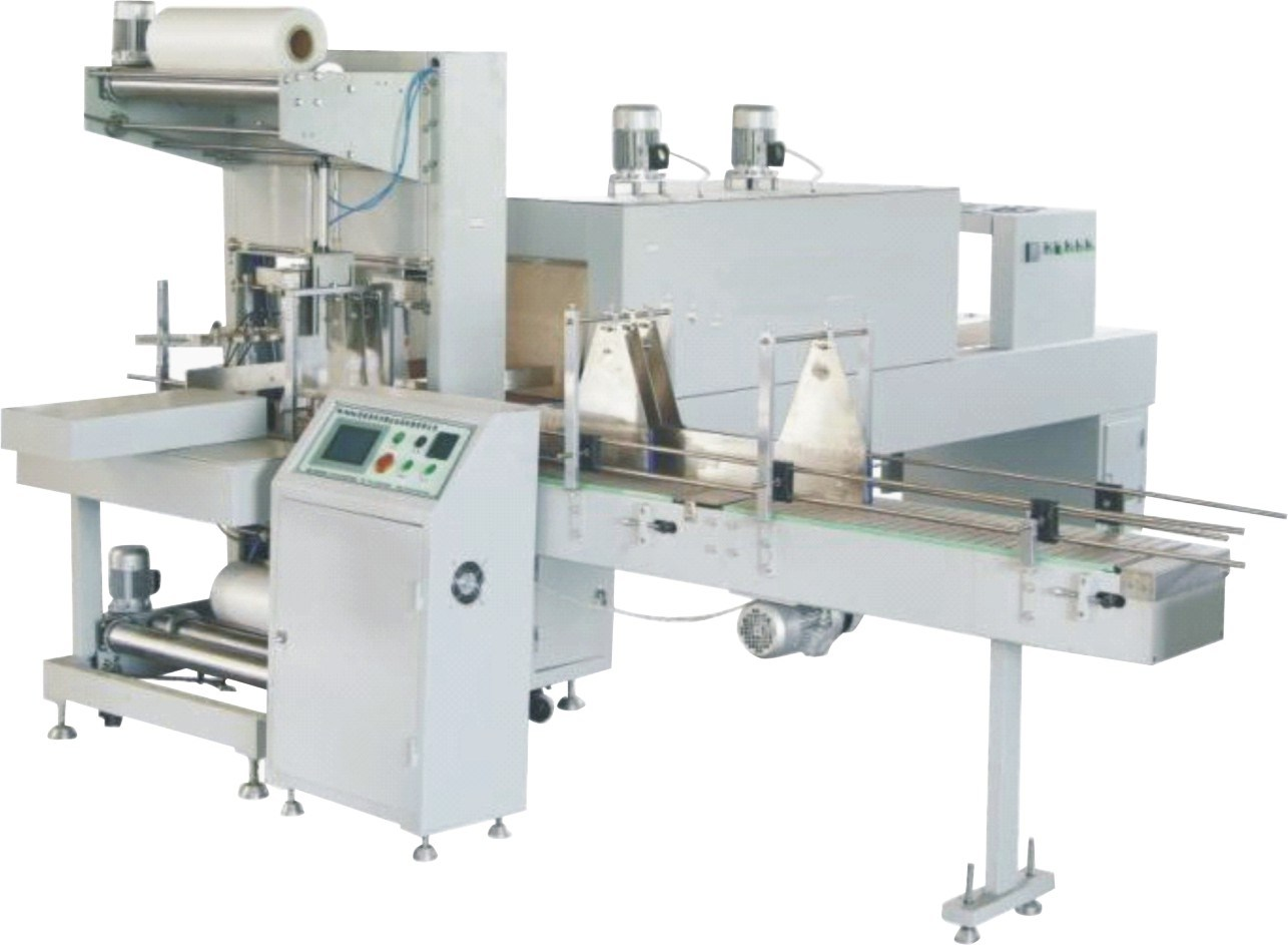 Pure /Mineral/Beverage Bottle PE Film Shrink Packing Machine