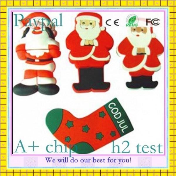 Hot Sale Christmas-Gift-Fish-Shape-USB-Flash (GC-S1225)