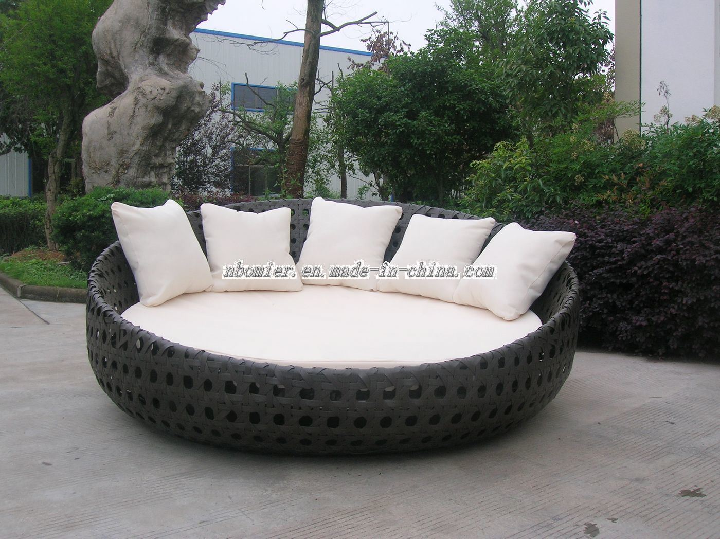Round Daybed Patio Furniture