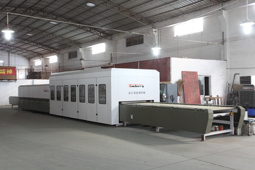 Horizontal Glass Tempering Machine Glass Machine