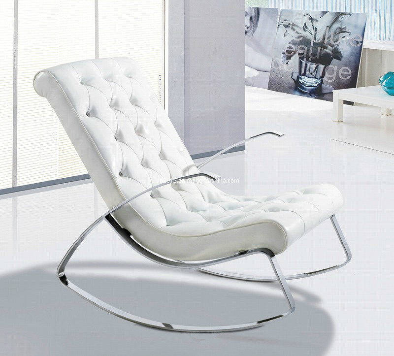 Leather Eames Lounge Modern Design Good Quality Leisure Chair (EC-014)