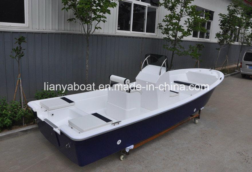 China liya small fiberglass fishing boat panga boats for Small fishing boats for sale