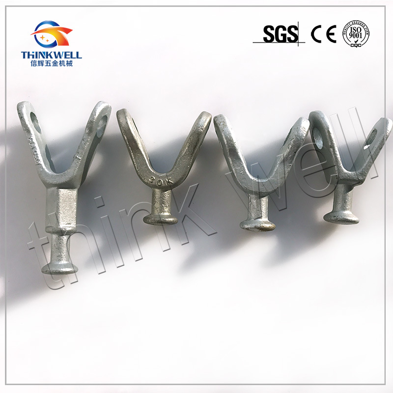 Forged Pole Line Hardwre Insulator Fitting Y Ball Clevis