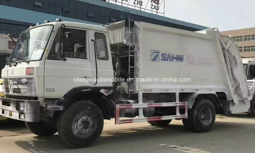 LHD & Rhd 12-15 Tons Compressed Garbage Truck for Sale