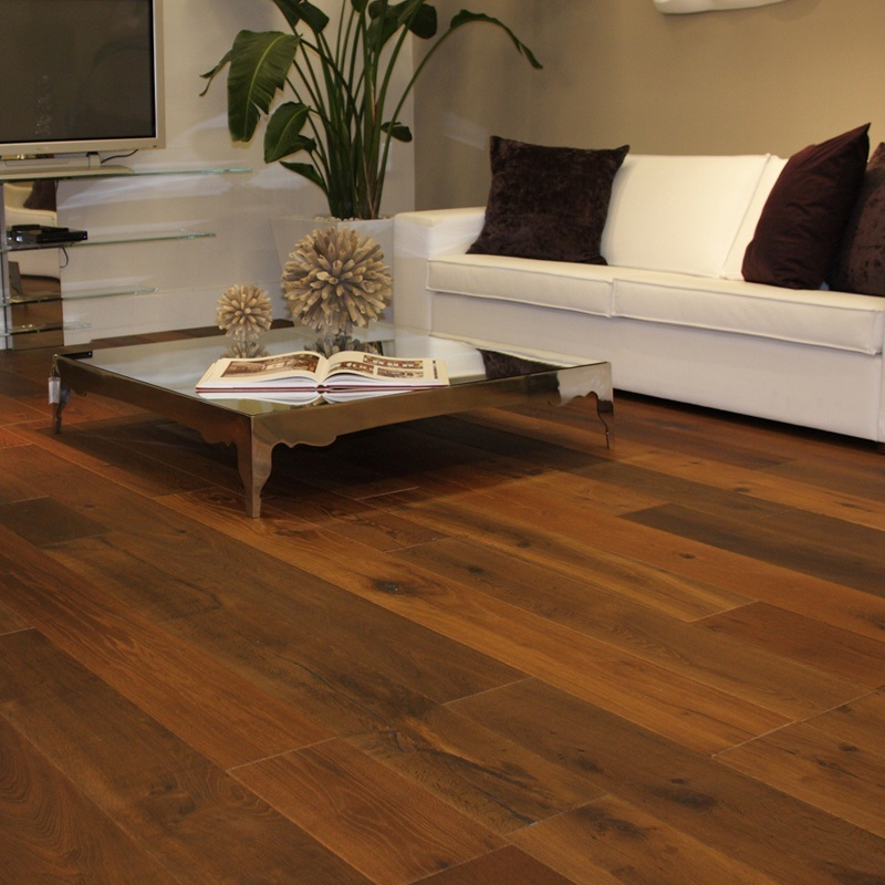 China Rustic White Oak Wide Plank Engineered Hardwood Flooring China Hardwood  Flooring Rustic