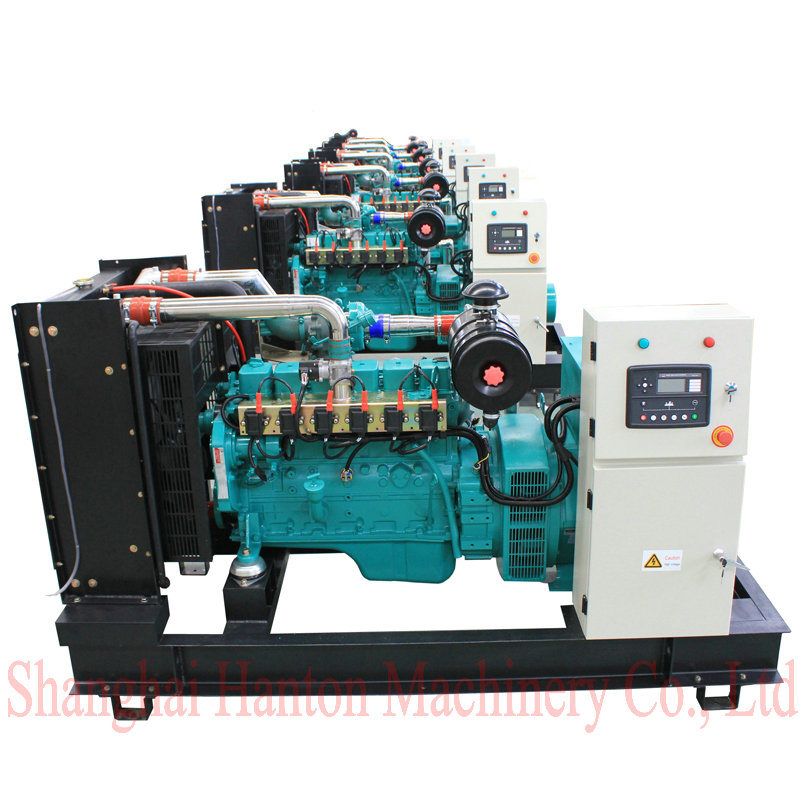 Cummins 6BTA CNG LNG Methane 50kw 60kw gas genset generator