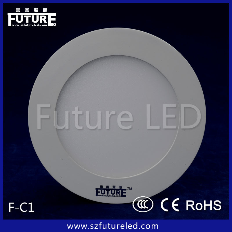 Future Lighting Recessed LED Cabinet Light Round F-C1