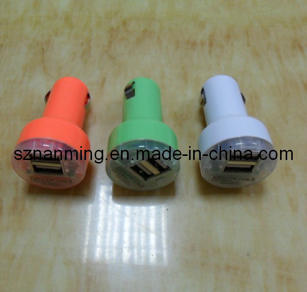 2 Port USB Car Charger (NM-USB-649)