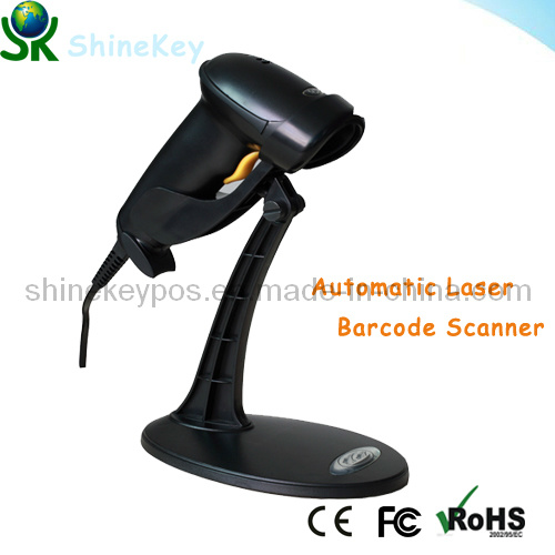 Automatic Laser Barcode Scanner (SK 9800 with stand)