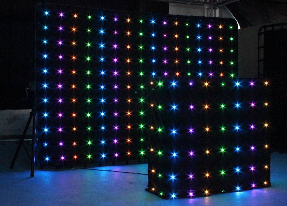 Chauvet led curtain