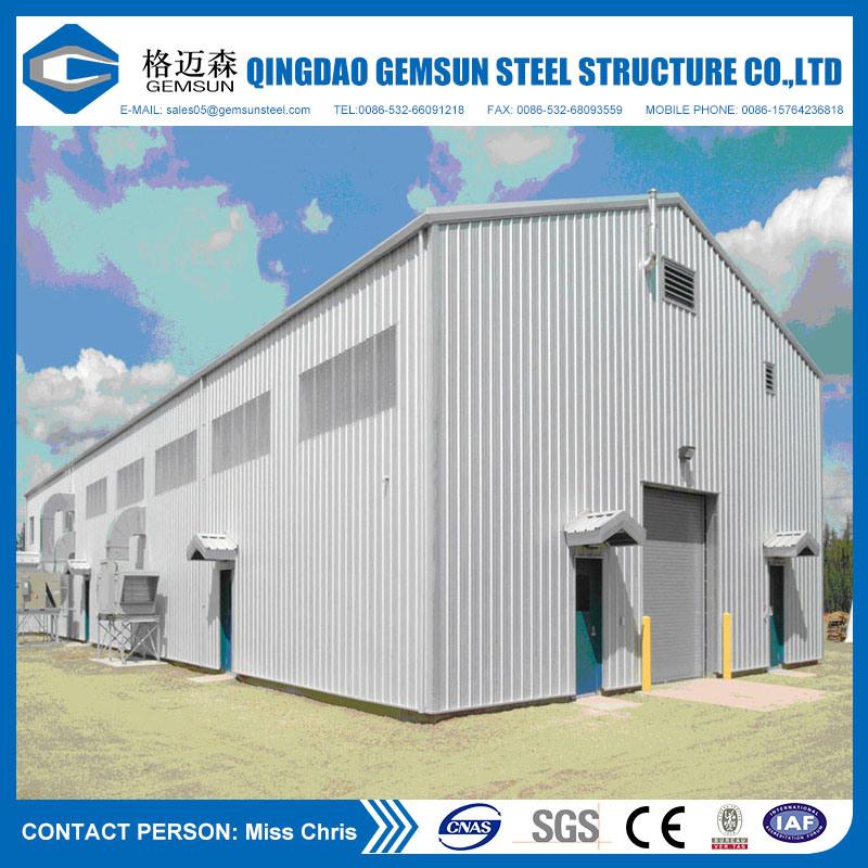 Gemsun Project Galvanized Modular Prefabricated Building