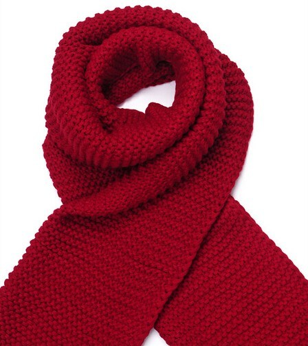 Fashion 100% Acrylic Knitted Knitting Scarf Muffer