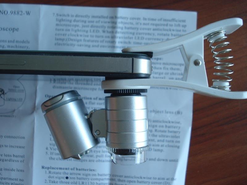 LED Pocket Microscope