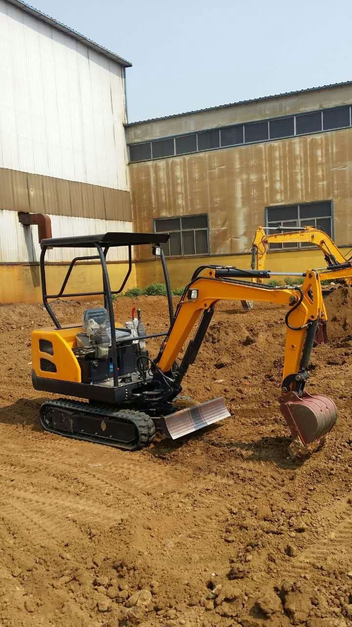 Cheap China Small Digger Wheel Excavator with Ce