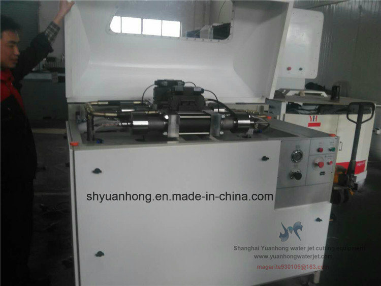 Water Jet Cutting Machine Double-Intensifiers Pump with Best Quality.