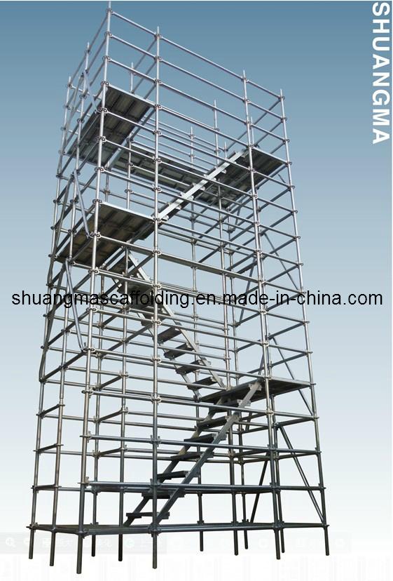 En12810 /SGS Layer Construction Working Platform All-Round Ringlock Scaffolding