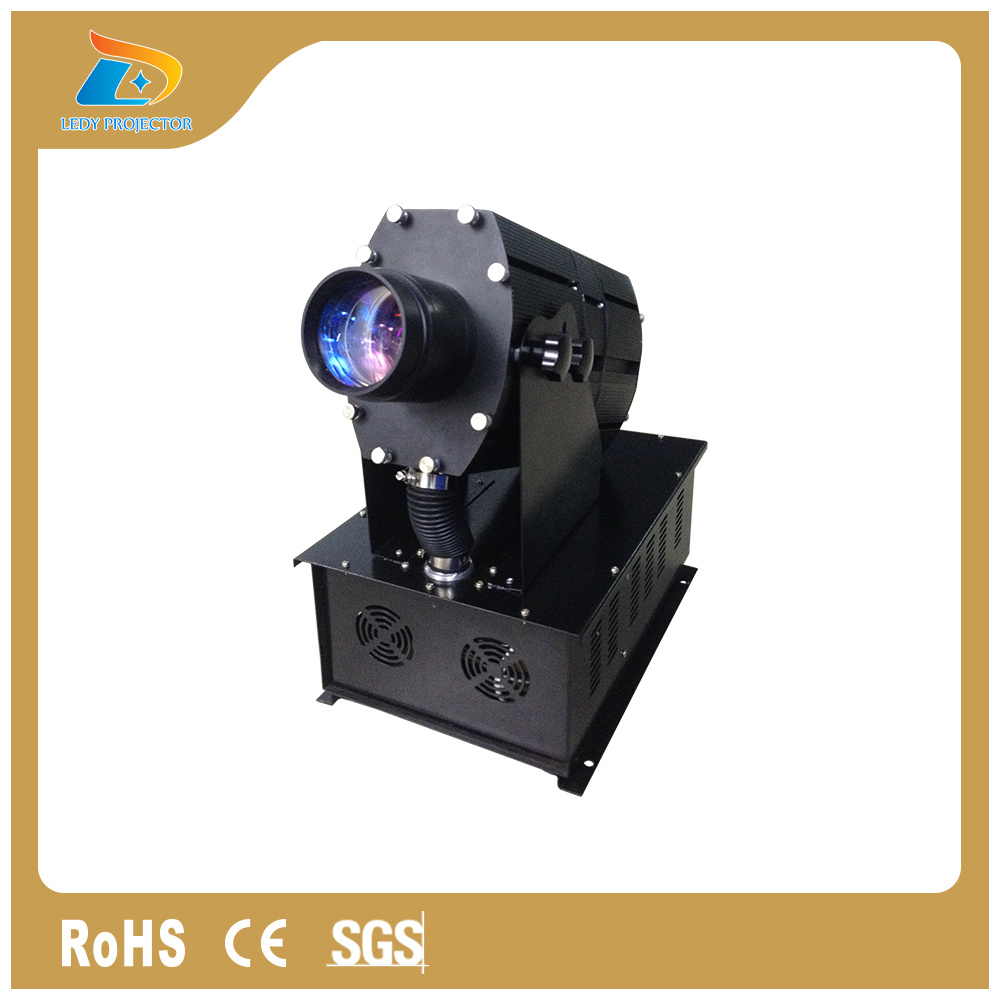 Multi Image 1200W Customized Gobo Outdoor Wall Advertising Projector