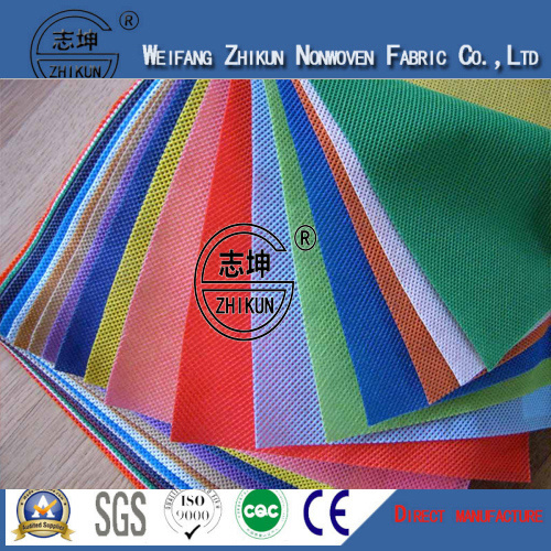 100% PP Nonwoven Fabric in Cross Design