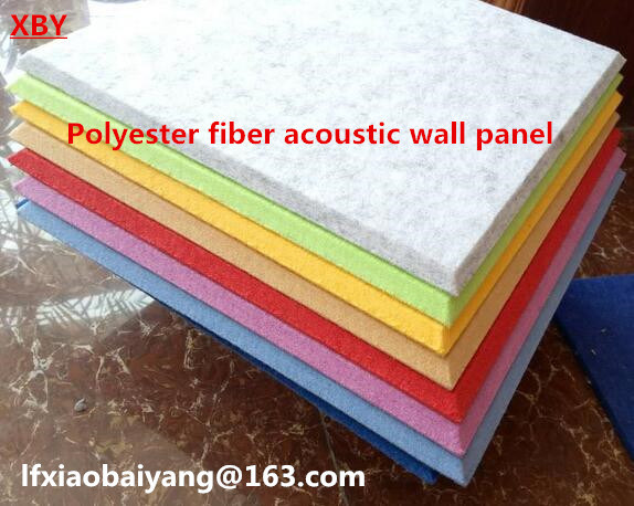 Acoustic Panel Polyester Fiber Panel Wall Title Ceiling Board 3D Wall Panel
