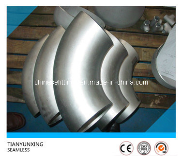 90 Degree Seamless Duplex/Stainless Steel Pipe Fitting Elbow