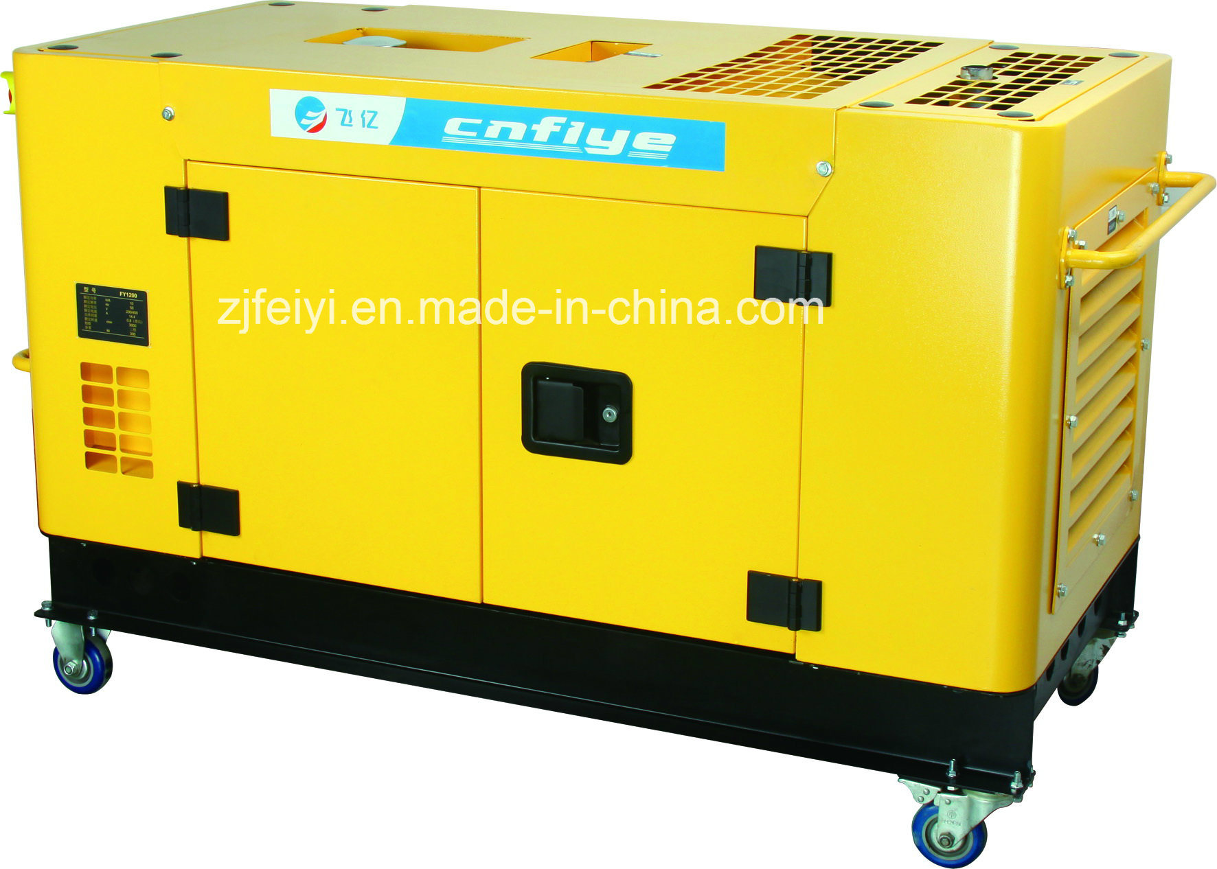 Fy-A0001 10kw Self-Starting Portable Professional Diesel Generator