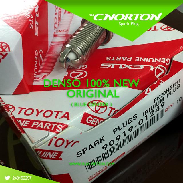 100% Original Blue Iridium Spark Plugs for Lexus / Toyota OEM 90919-01249