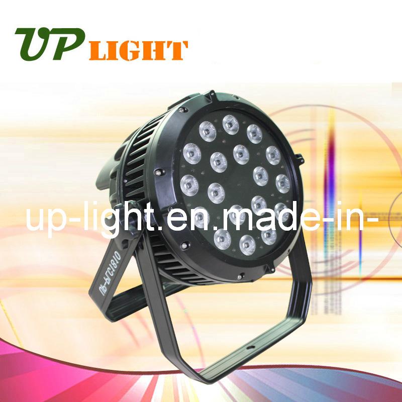 Waterproof 18PCS*10W 4in1 RGBW LED PAR Light