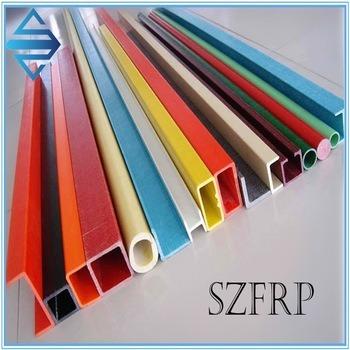 Fiberglass/FRP/GRP Profiles, Glass Fiber Profiles