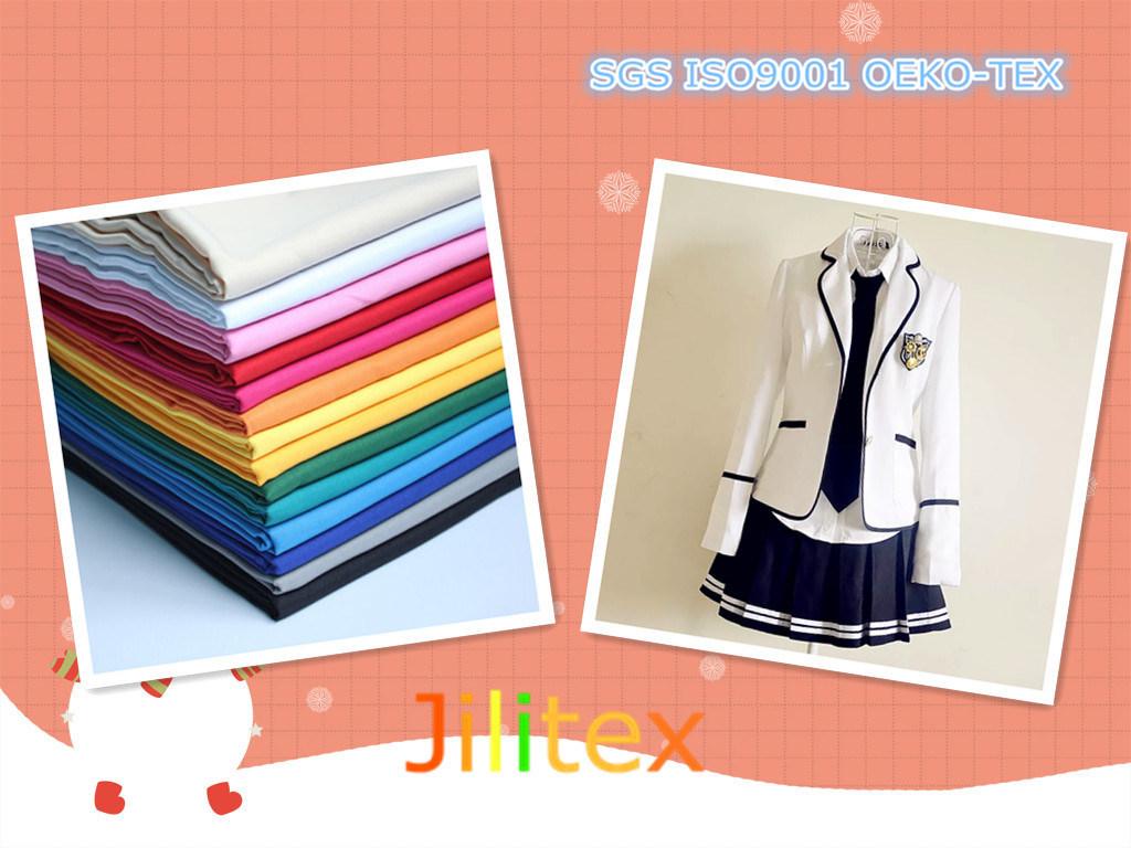 Dyed Fabric/Twill Uniform Fabric for Garment/School Uniform Fabric