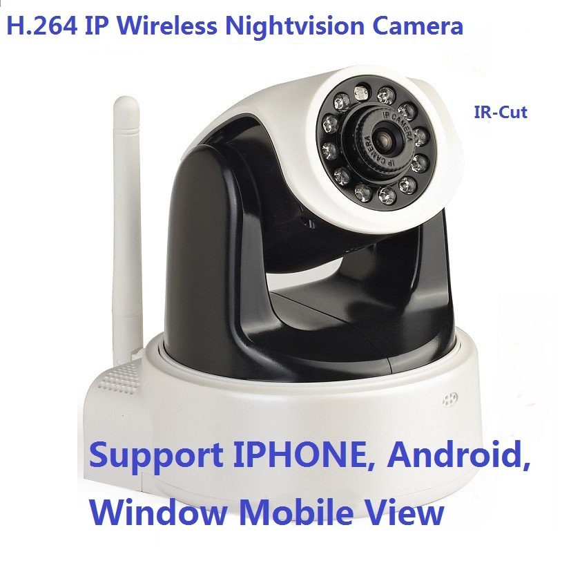 H. 264 & Mjpeg PTZ IP Video CCTV Camera Support WiFi Mobile Phone View (HC1111)