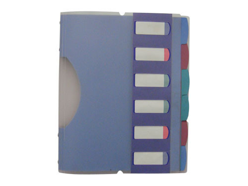 Assorted Index Divider with Cover (B3512)