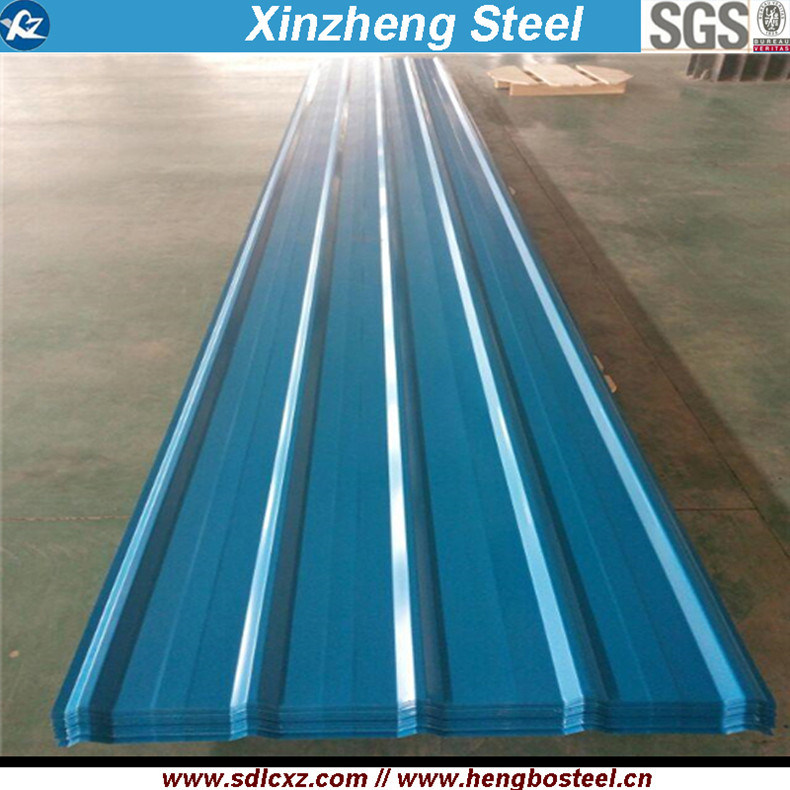 0.125-0.8mm Building Material Galvanized Steel Sheet Corrugated Roofing Sheet