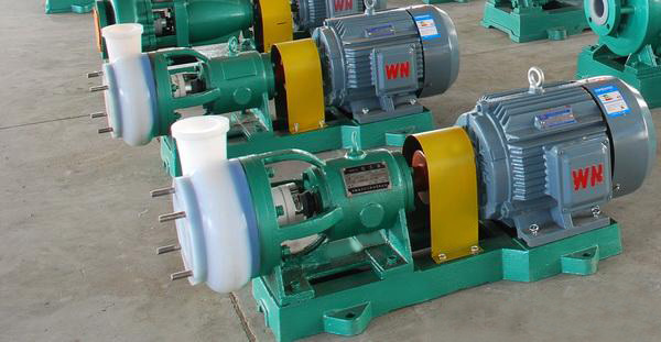 Fluorine Plastic Lined Chemical Pump for Highly Corrosive Liquid (IHF)