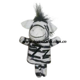 Plush Rabbit Hand Puppet for Chilrden (LE-HP072601)