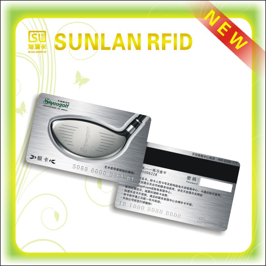 PVC Magnetic Smart Card with Signature Strip