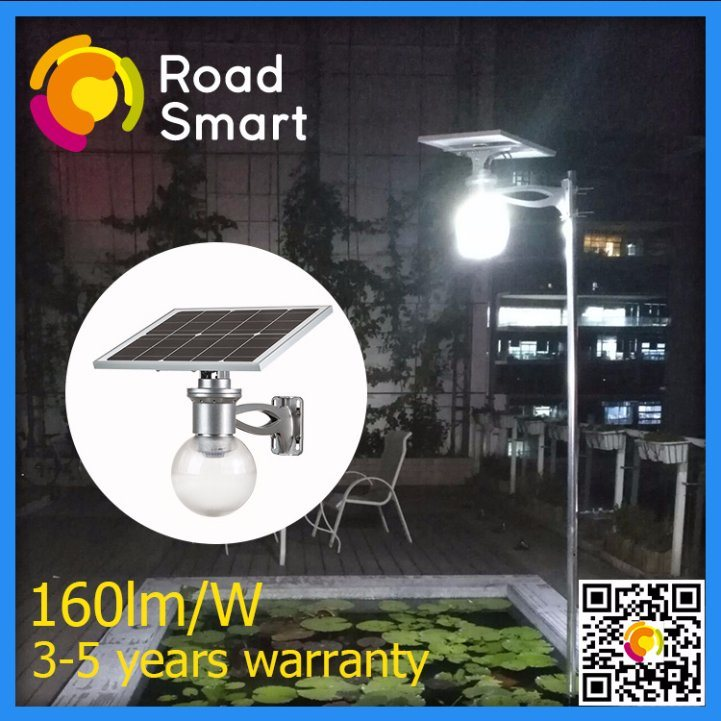 High Lumen 4W IP65 All-in-One LED Solar Street Garden Lights
