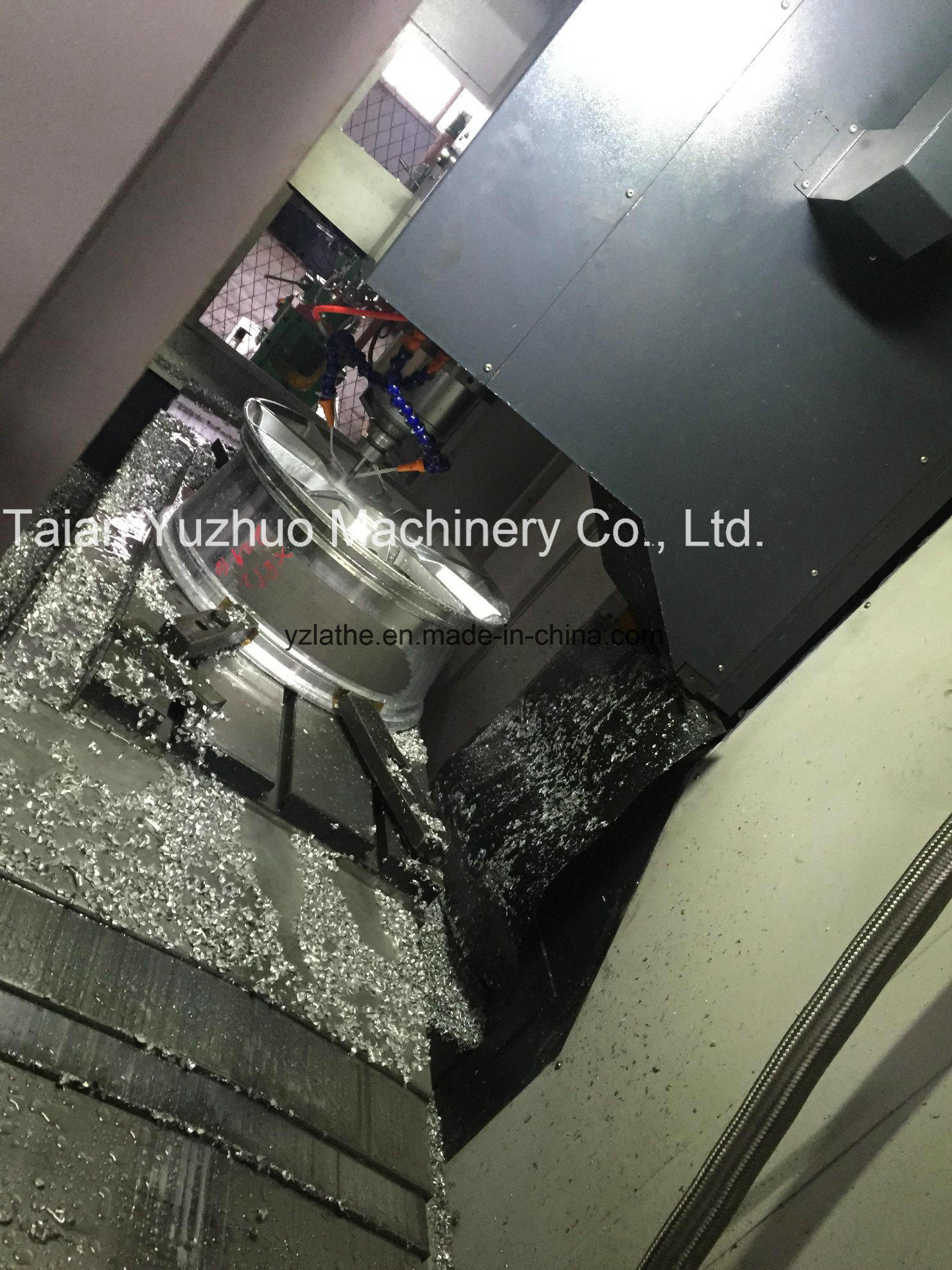 Alloy Rim Repair Wheel Vertical CNC Lathe