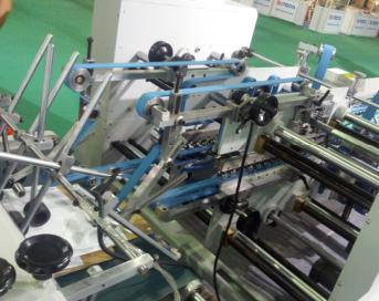 Xcs-800 Package High-Speed Efficiency Folder Gluer Machine