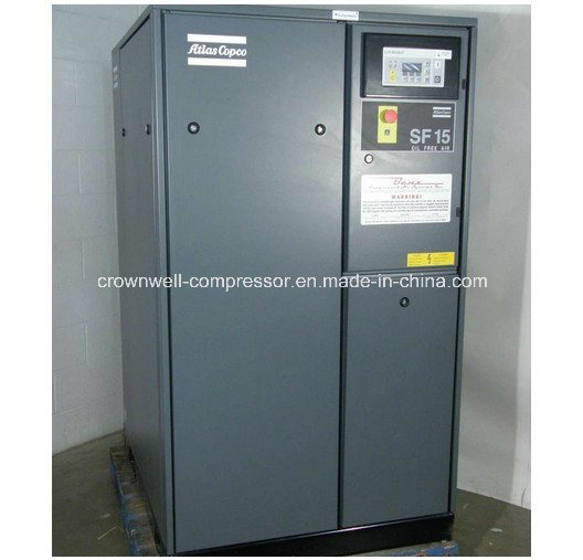 Atlas Copco Oil Free Screw Air Compressor (SF1-15 SF17-22)