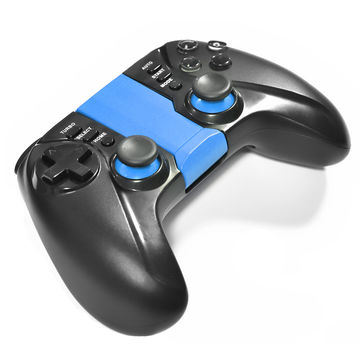 Dual Shock Motor Bluetooth Game Controller for Android/Ios Smartphone Moba Games