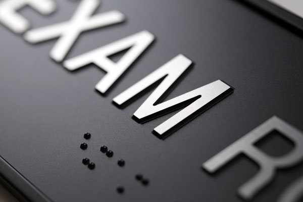 Customized Ada Braille Signs