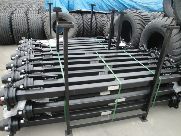 4t 6t 8t Agricultural Trailer Axle for Sale