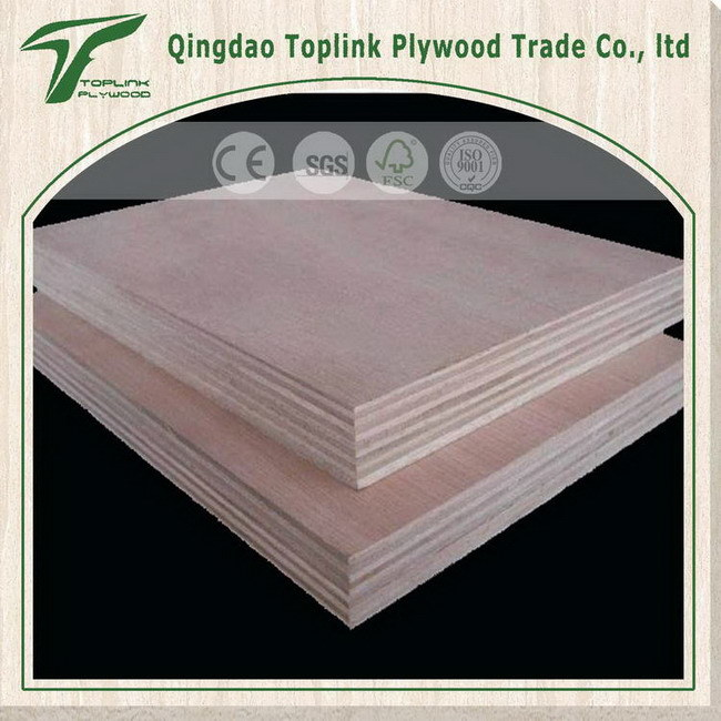 Facotry Sales Directly Birch Faced Poplar Core Plywood/ Commercial Plywood/ Furniture Ply