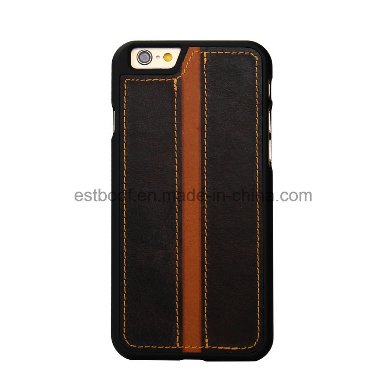 Top Layer Eather Phone Case/Back Cover for iPhone/Samsung