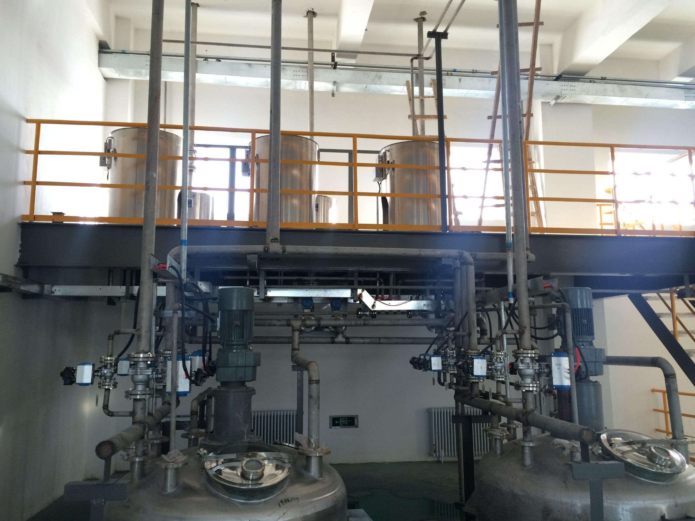 Good Quality Manufacturing Equipment of Liquid Detergent Plant