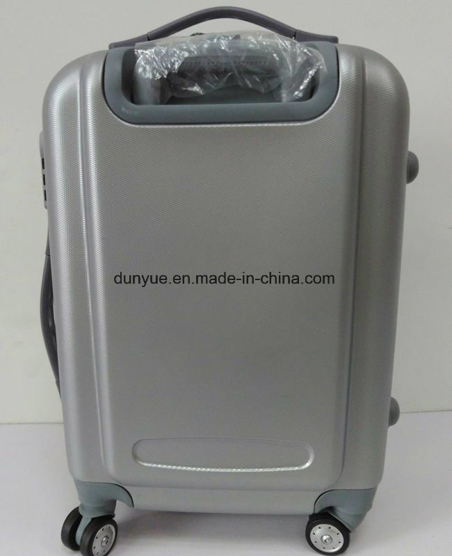 """Factory Make Low MOQ Durable ABS Material 20""""24""""28"""" Travel Rolling Luggage Bag, Promotion OEM Cheap Zipper Trolley Case Bag"""