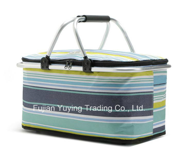 Colourful Picnic Bag Organizer Cooler Bag