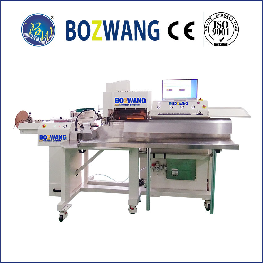 Automatic PV Wire Bulk Terminal Crimping Machine