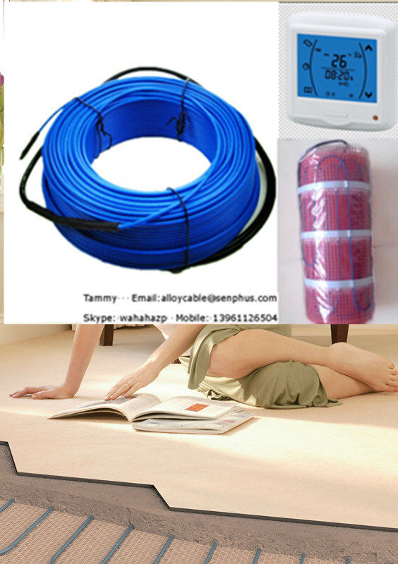 VDE Electric Floor Heating System with Room Thermostat